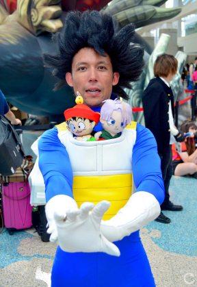 Anime Expo 2016 Cosplay 162 Vegeta Dragon Ball Z