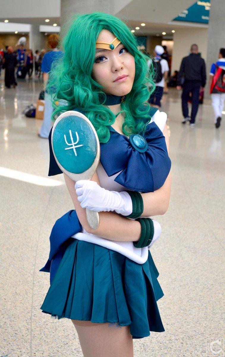 Anime Expo 2016 Cosplay 170 Sailor Moon Neptune