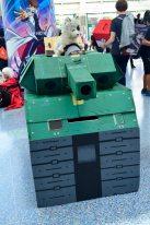 Anime Expo 2016 Cosplay 23 Snake Metal Gear Solid Phantom Pain Tank