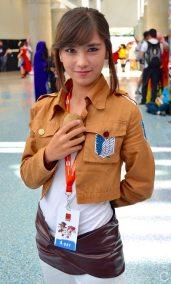 Anime Expo 2016 Cosplay 32 Sasha Blouse Attack on Titan