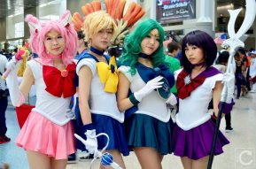 Anime Expo 2016 Cosplay 84 Sailor Scouts