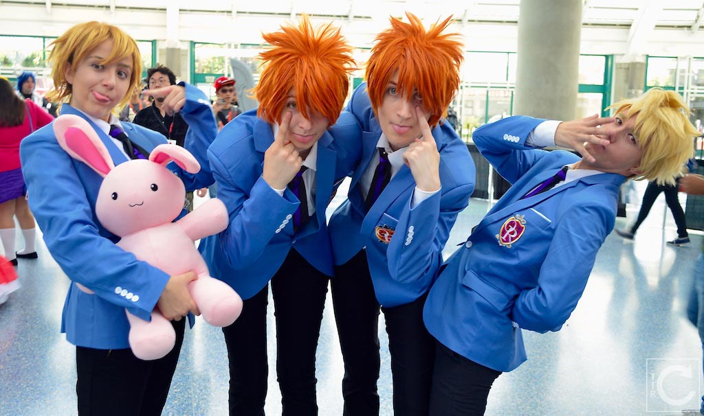 Anime Expo 2016 Cosplay Funny 14 Ouran High School Host Club