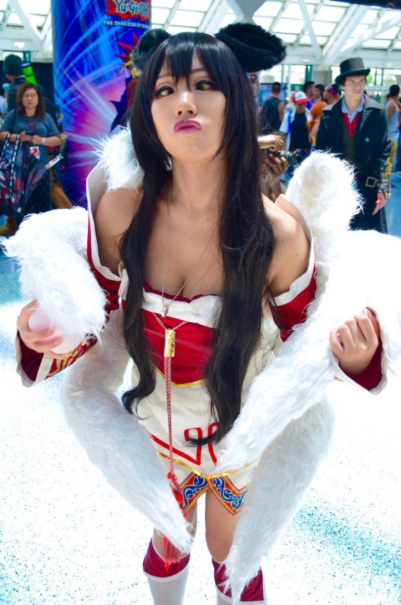 Anime Expo 2016 Cosplay Funny 20 Ahri League of Legends