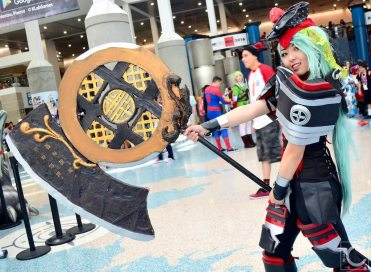Anime Expo 2016 Cosplay Funny 21 Gon Destroyer Blade and Soul