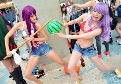 Anime Expo 2016 Cosplay Funny 47 Zero no Tsukaima Princesses ono Rondo