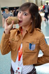 Anime Expo 2016 Cosplay Funny 9 Sasha Blouse Attack on Titan