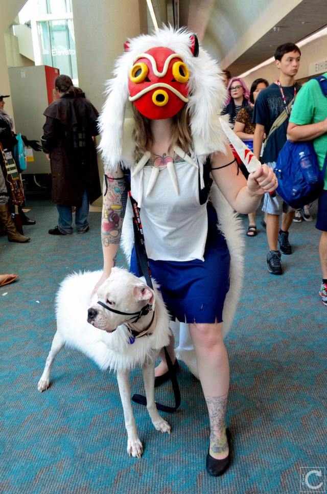 San Diego Comic Con 2016 Cosplay 50 Princess Mononoke Turn The