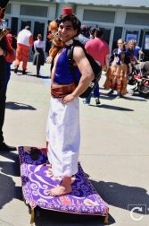 WonderCon 2017 Cosplay Aladdin