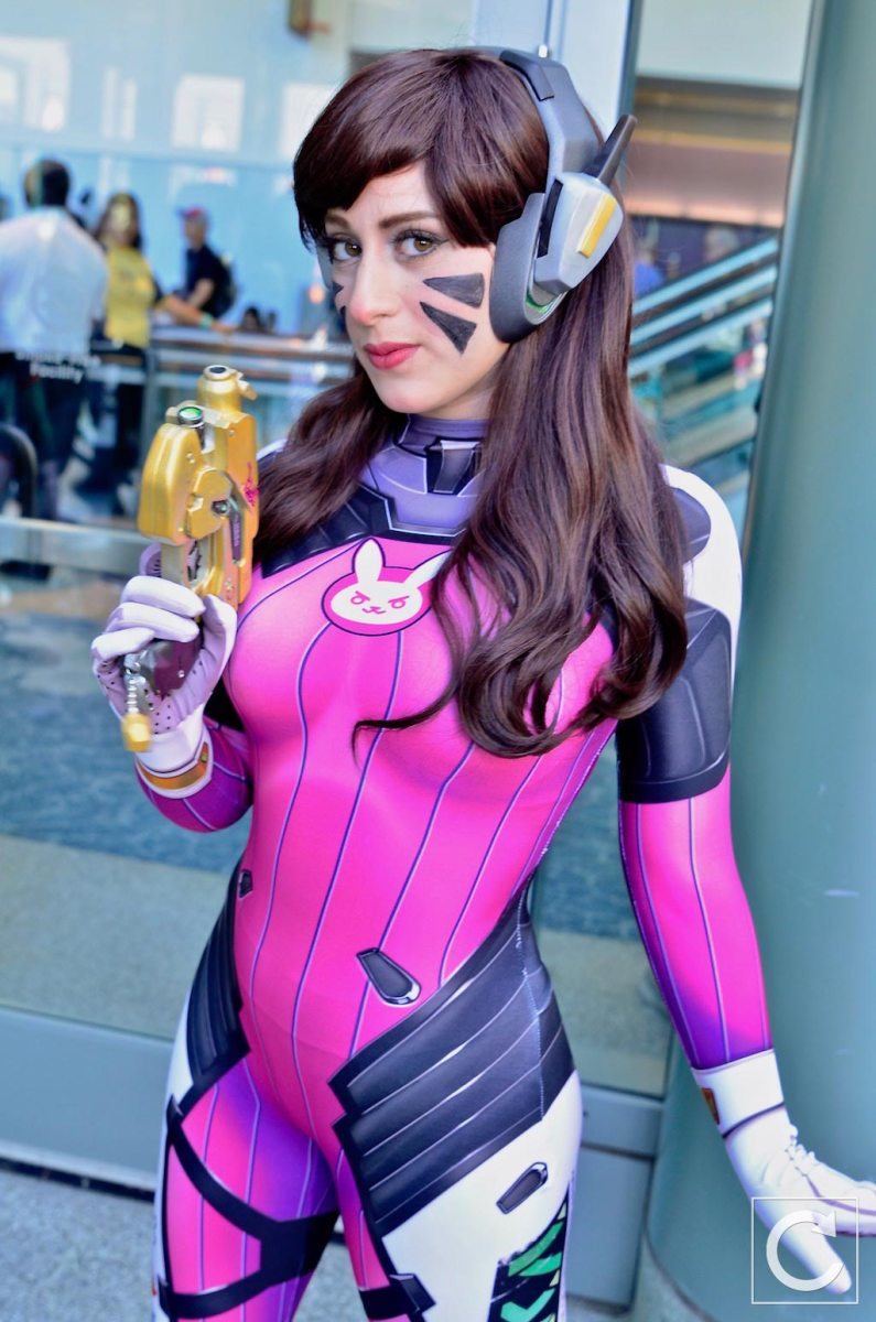 WonderCon 2017 Cosplay Overwatch D.Va 4