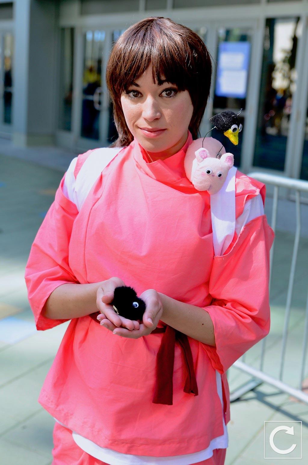 Wondercon 2017 Cosplay Chihiro Spirited Away Turn The Right Corner