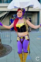 WonderCon 2017 Cosplay Bombshell Batgirl