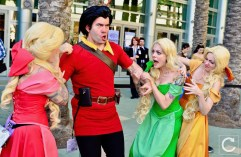 WonderCon 2017 Cosplay Gaston Beauty and the Beast
