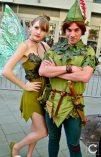 WonderCon 2017 Cosplay Peter Pan Tinkerbell
