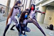 WonderCon 2017 Cosplay Spider-Women