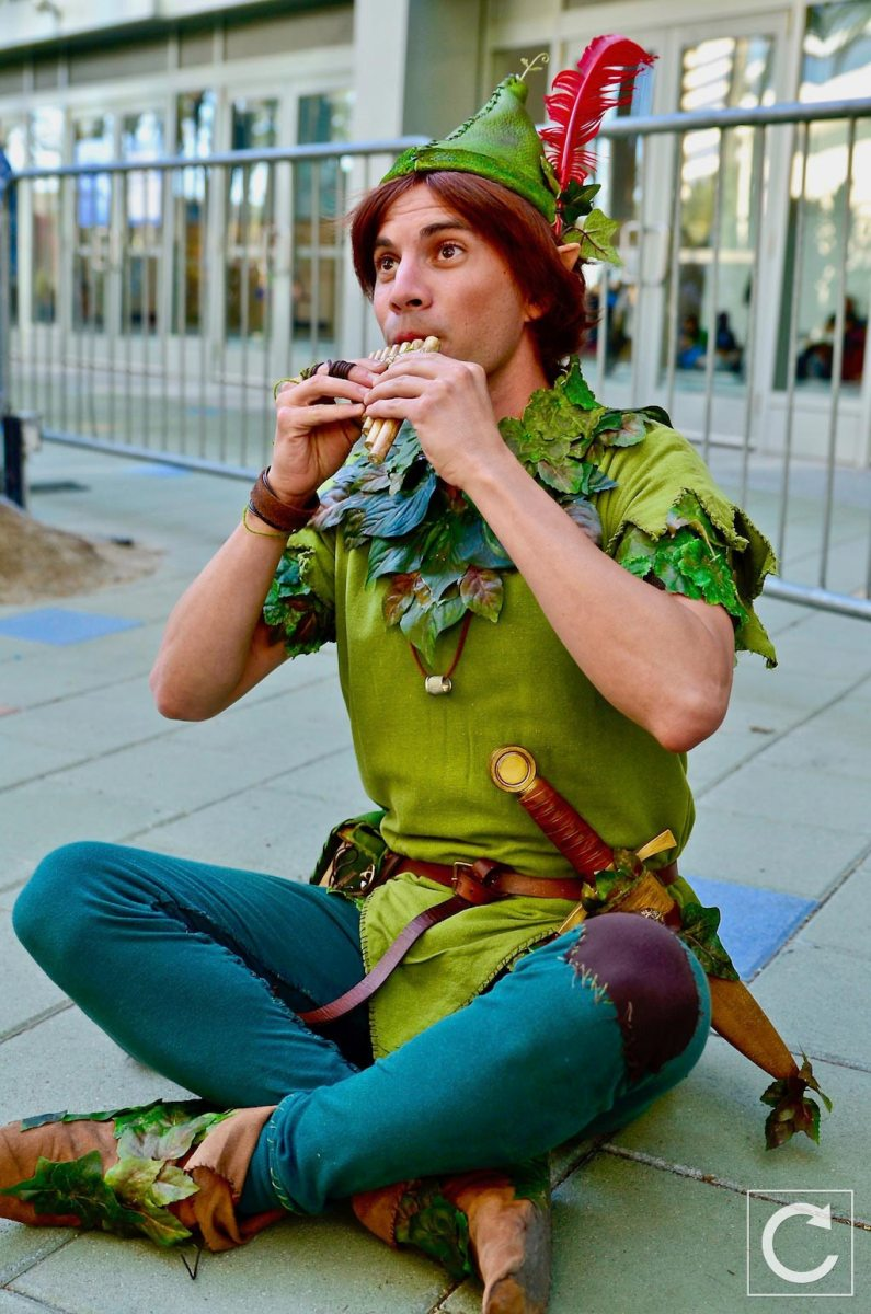 WonderCon 2017 Cosplay Peter Pan