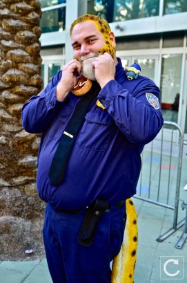 WonderCon 2017 Cosplay Clawhauser Zootopia