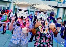 WonderCon 2017 Cosplay Vacation Stormtroopers