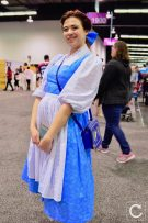 WonderCon 2017 Cosplay Belle Beauty and the Beast