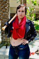 WonderCon 2017 Cosplay Female Negan The Walking Dead