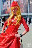 WonderCon 2017 Cosplay Flash Girl Dress