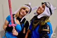 WonderCon 2017 Cosplay Funny Adventure Time Finn and Fionna