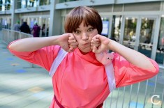 WonderCon 2017 Cosplay Funny Chihiro Spirited Away