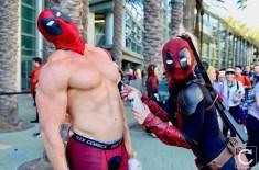 WonderCon 2017 Cosplay Funny Deadpool