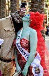 WonderCon 2017 Cosplay Funny Miss Argentina Beetlejuice