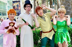 WonderCon 2017 Cosplay Funny Peter Pan