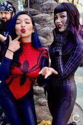 WonderCon 2017 Cosplay Funny Spider-Woman Symbiote Spider-Man