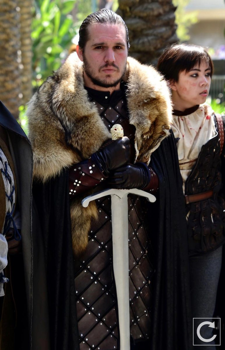 WonderCon 2017 Cosplay Game of Thrones Jon Snow
