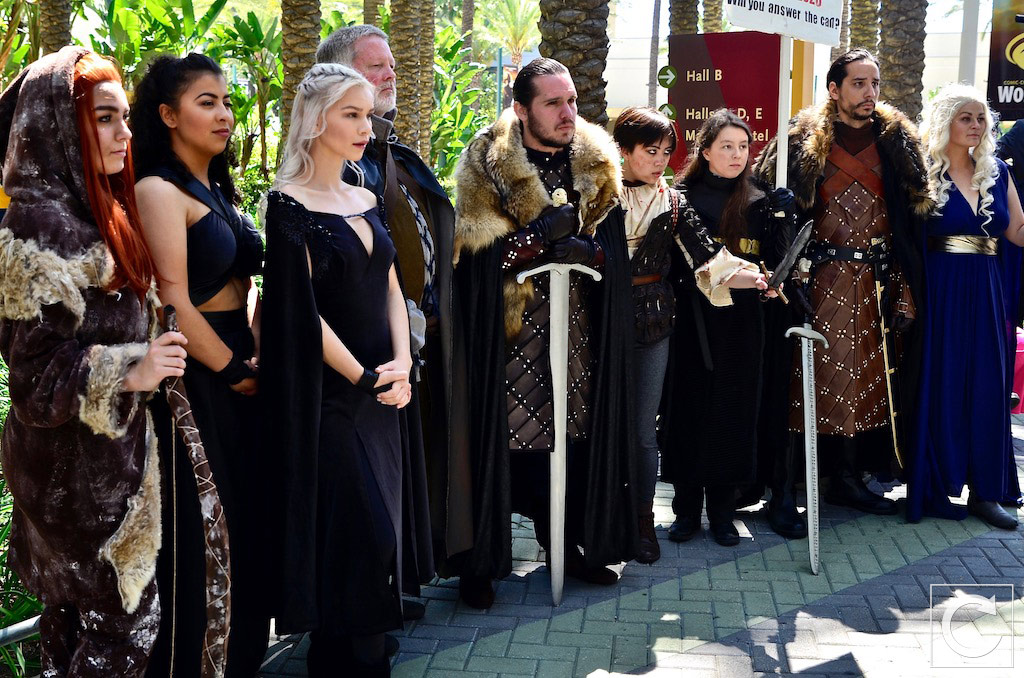 WonderCon 2017 Cosplay Game of Thrones