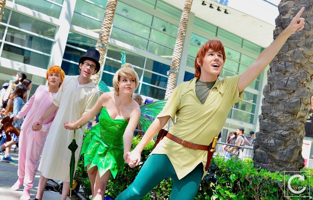 WonderCon 2017 Cosplay Peter Pan Group 2  deeb4f15fe93