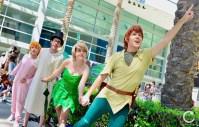 WonderCon 2017 Cosplay Peter Pan Group 2