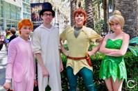 WonderCon 2017 Cosplay Peter Pan Group
