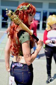 WonderCon 2017 Cosplay Poison Ivy Punk