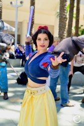 WonderCon 2017 Cosplay Star Wars Snow White Jedi