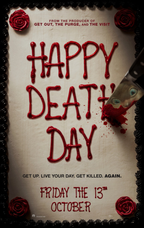 Happy Death Day Teaser Poster