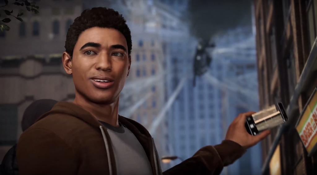 Miles Morales Spider-Man PlayStation 4