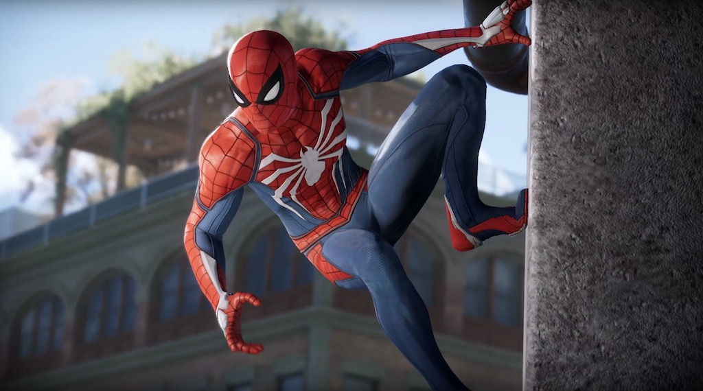 PlayStation4 Spider-Man Game E3