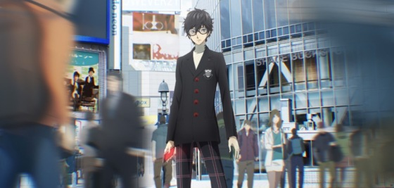 PERSONA5 the Animation Premires on Crunchyroll and Hulu