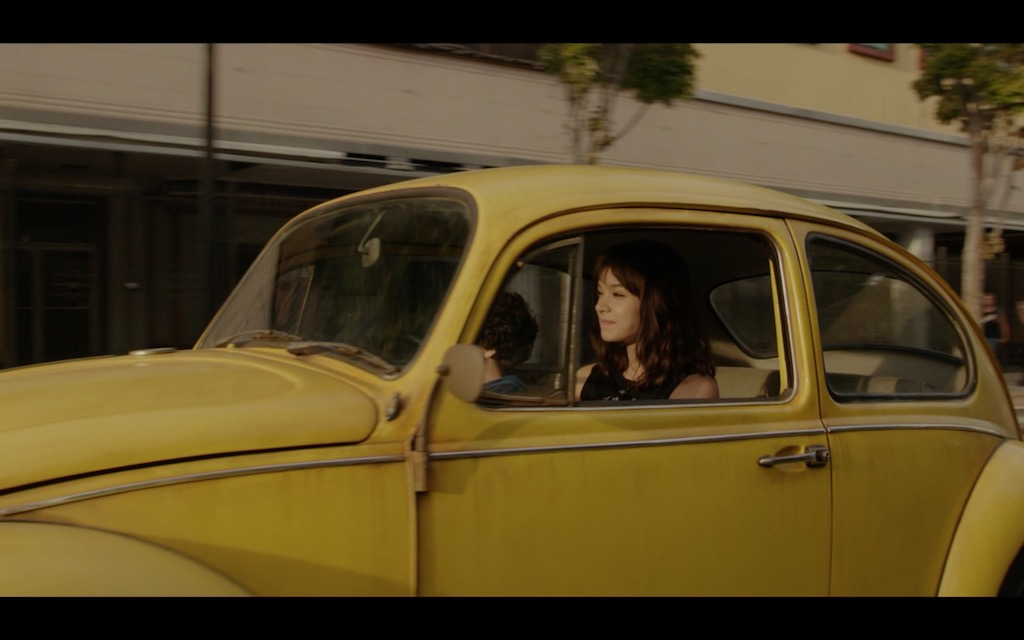 Bumblebee Transformers Movie Hailee Steinfeld Screenshot 2