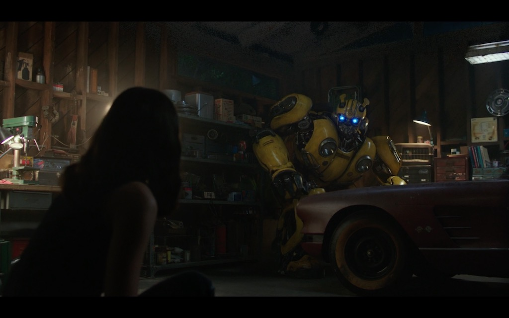 Bumblebee Transformers Movie Screenshot 9
