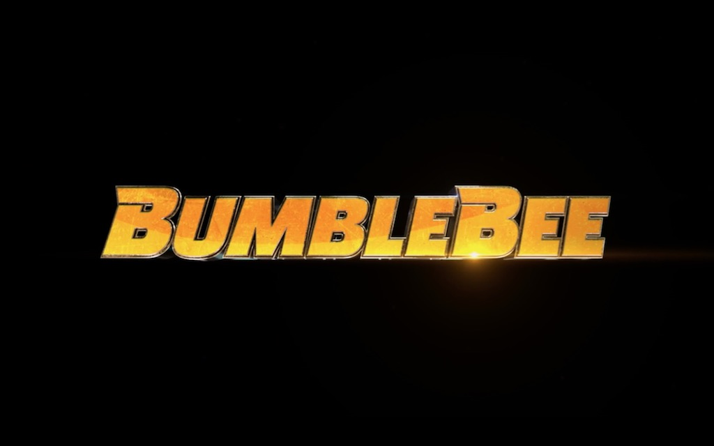 Bumblebee Transformers Movie Title Treatment