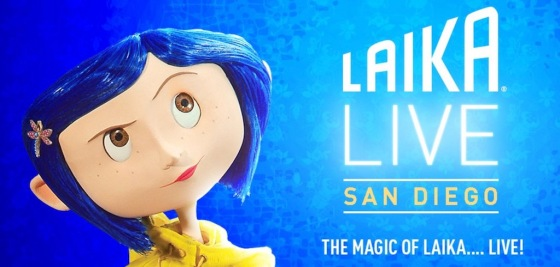 LAIKA Live Exhibit Coming to San Diego Comic-Con 2018