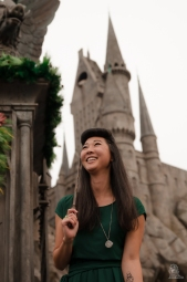 Event Universal Studios Hollywood Wizarding World Slytherin Student 2
