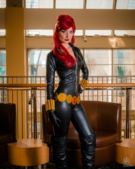 Long Beach Comic Expo 2018 Cosplay Black Widow