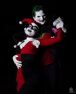 Long Beach Comic Expo 2018 Cosplay Joker and Harley