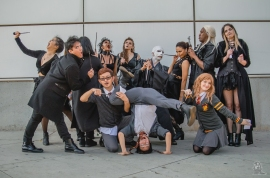 Los Angeles Comic Con 2017 Harry Potter Dance Crew