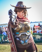 San Diego Comic-Con 2017 McCree Genderbend Alanah Pearce